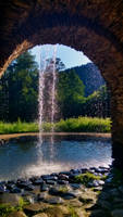 waterfall by JiriBobalik