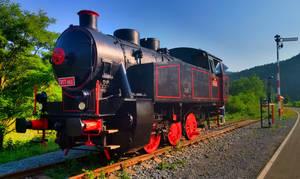 Steam locomotive 317 053 by JiriBobalik