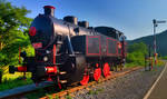 Steam locomotive 317 053