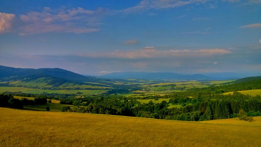 View of the mountain Praded, Czech republic by JiriBobalik
