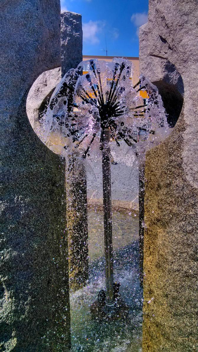 Fountain, Jesenik, Czech republic by JiriBobalik