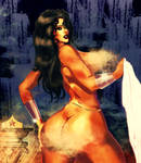 Wonderwoman Nude (Censored) by tehswompting