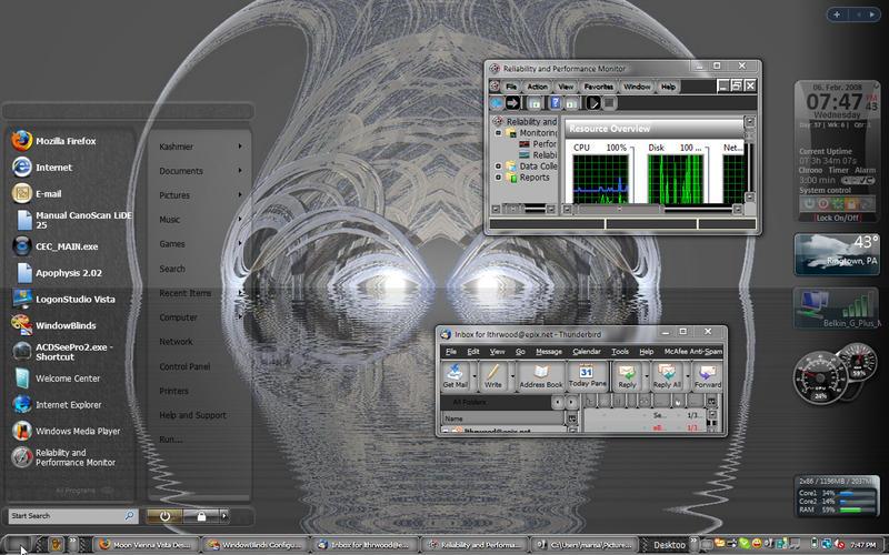 Woo Creature Desktop Vista