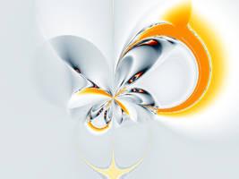 Simple Elegant Fractal by kashmier