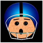 Helmet Head Football Player