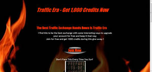 Traffic Exchange Splash Page