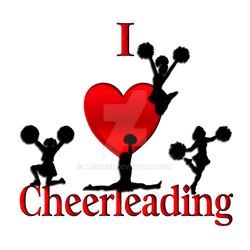 I Heart Cheer Leading