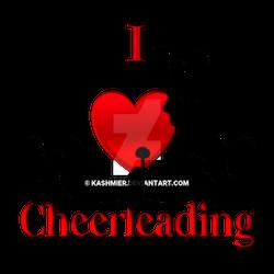 I Heart Cheer Leading