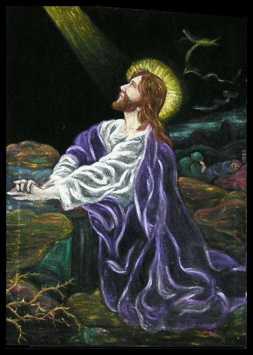 Jesus in the Garden of Gethsem