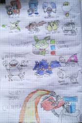 Neptune Sha Squad : Species