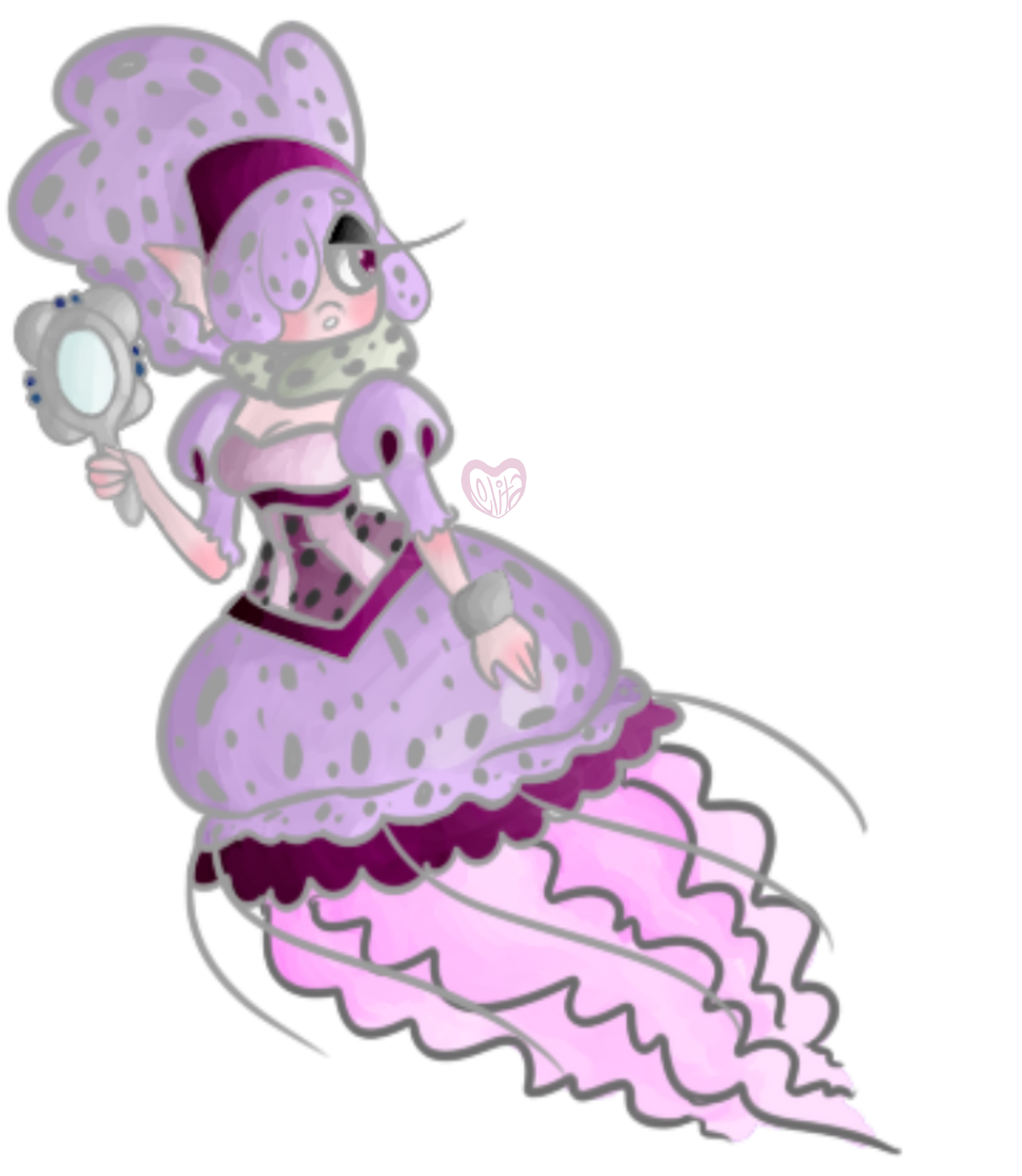 the jellyfish princess by lolitaoftheundead on deviantart