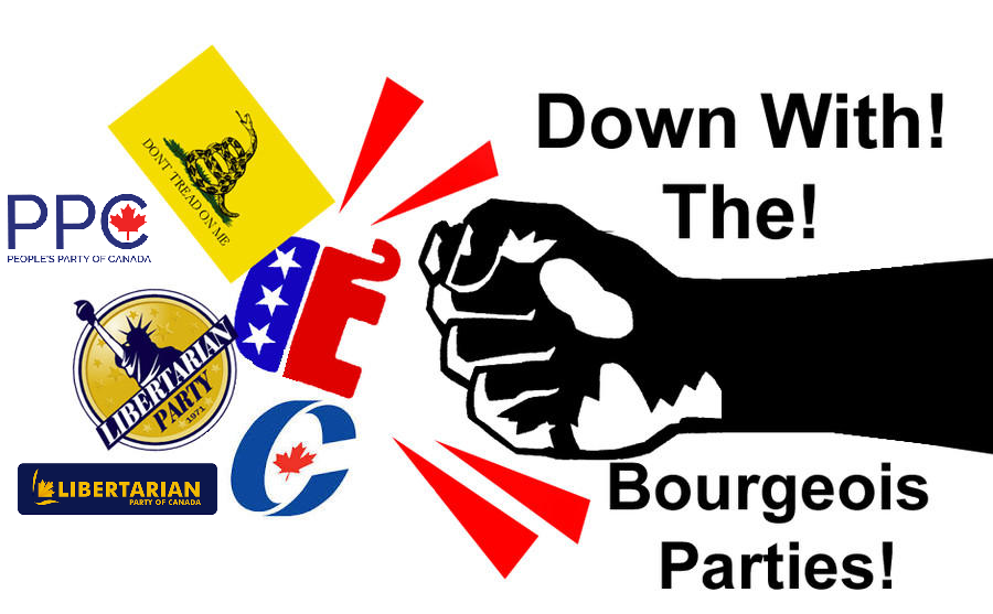 Down with the Bourgeois Parties by MichaelMiyamoto
