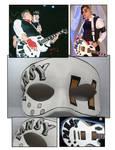 MCR Pansy guitar mask
