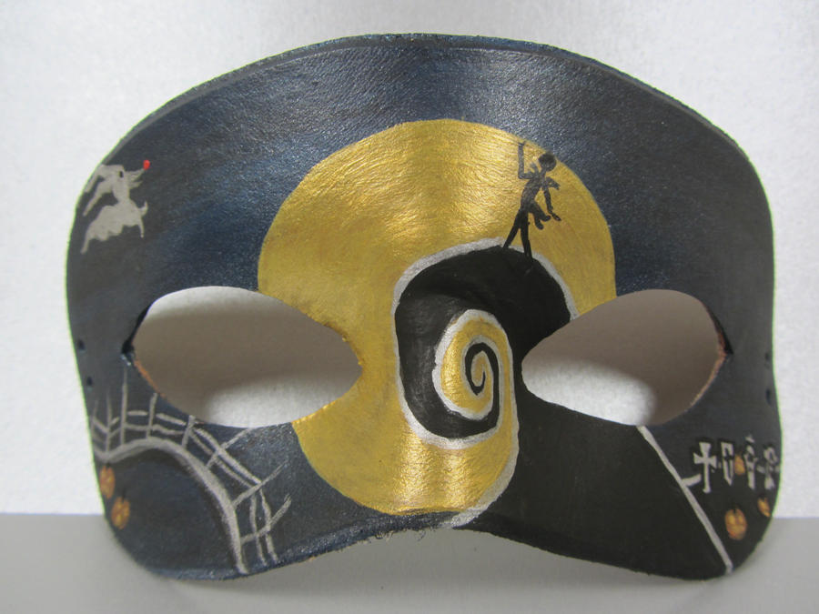 Nightmare Before Christmas mask by maskedzone