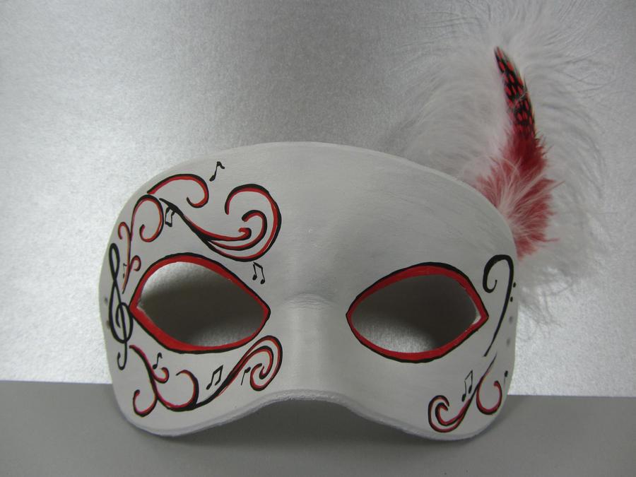 Musical Masquerade Mask by maskedzone on DeviantArt
