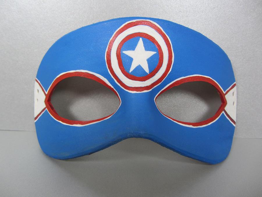 Avengers mask  Captain America by maskedzone on DeviantArt