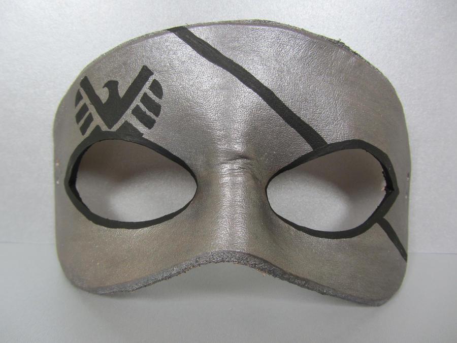 Avengers mask - Nick Fury by maskedzone