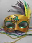 Mardi Gras Masquerade mask 2