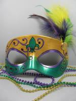 Mardi Gras Masquerade mask 1