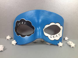 The Fault In Our Stars masquerade mask by maskedzone