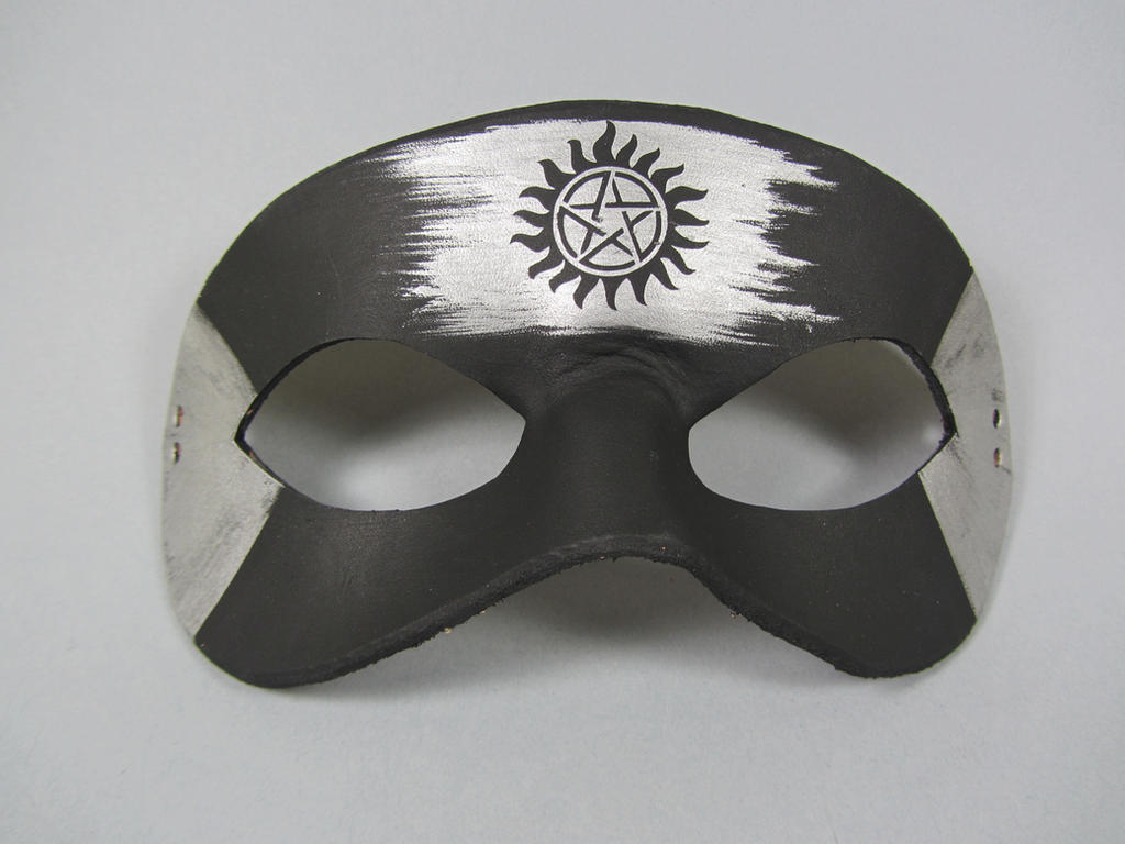 Supernatural anti-possession tattoo mask by maskedzone