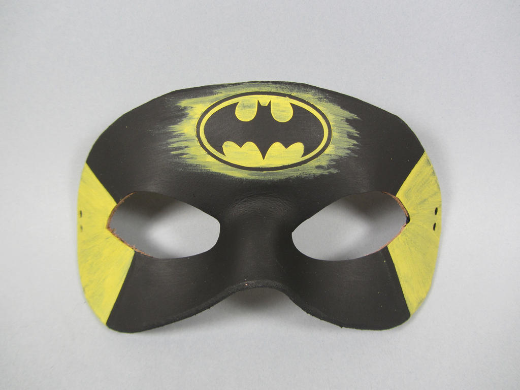 Batman inspired mask by maskedzone