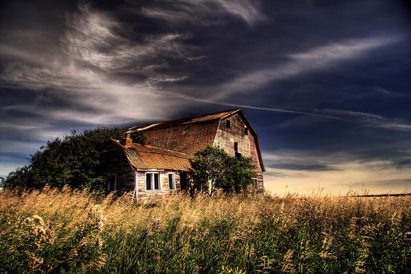 Just a Barn by Sticks55