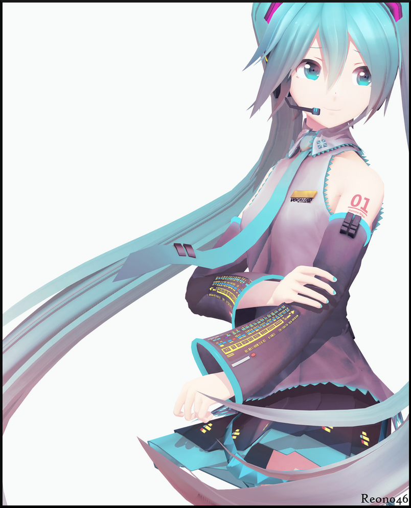 . YYB HATSUNE MIKU . by Reon046 on DeviantArt Vocaloid Characters Name