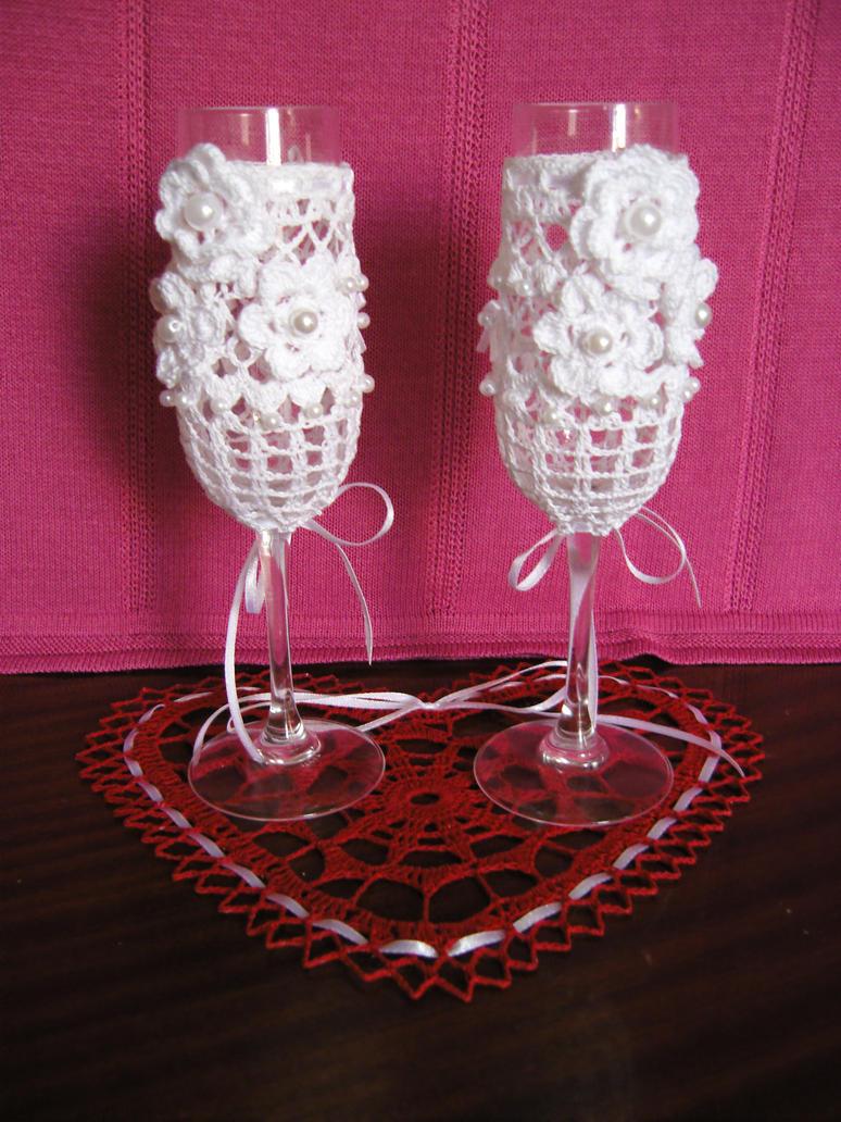 Crochet glasses by eva-crochet