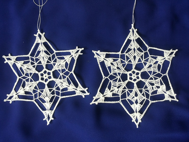 Snowflakes by eva-crochet