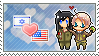 Hetalia AmeIsra ship stamp by BarEliya