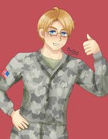 [APH] .:Thumb Up:. +Speedpaint Video by BarInSpace