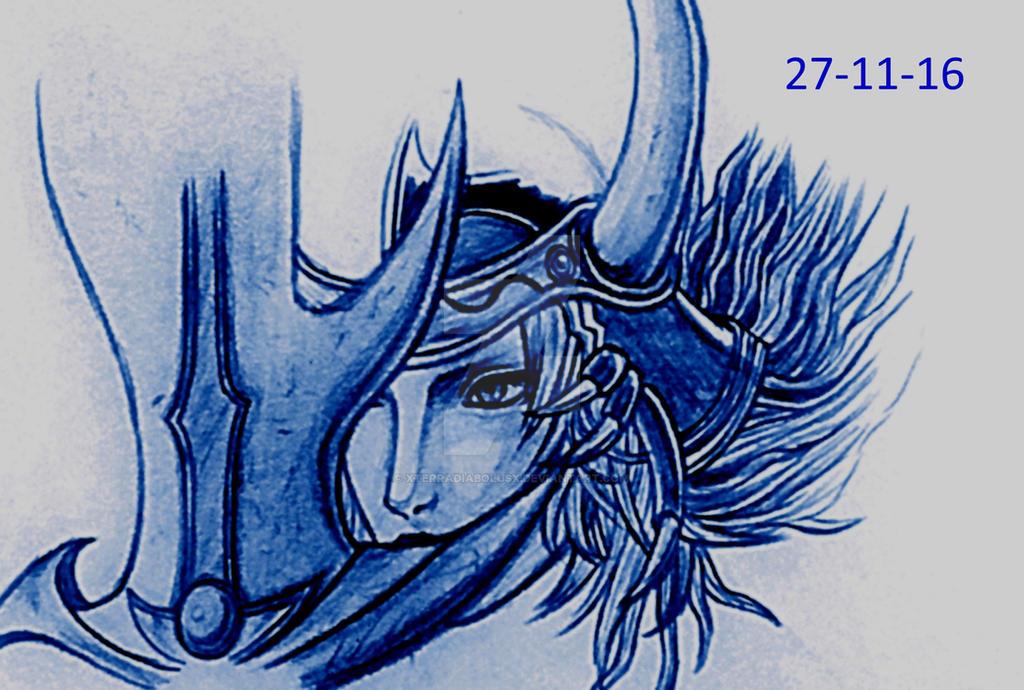 Another Warrior of Light doodle. by XTerraDiabolusX