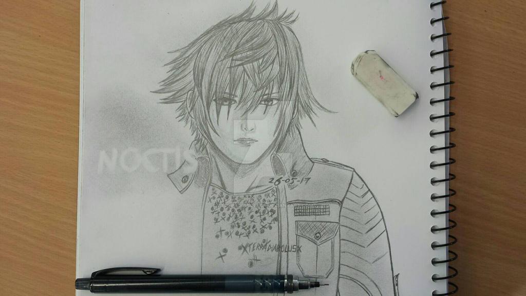 Random Noctis sketch by XTerraDiabolusX