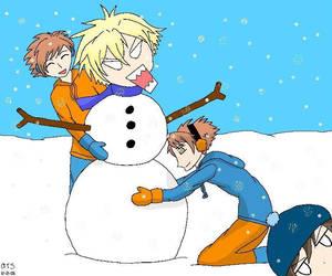 Tamaki The Snowman by AngieTheStrange