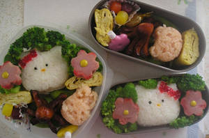 Friendship bento by KandiKawaii