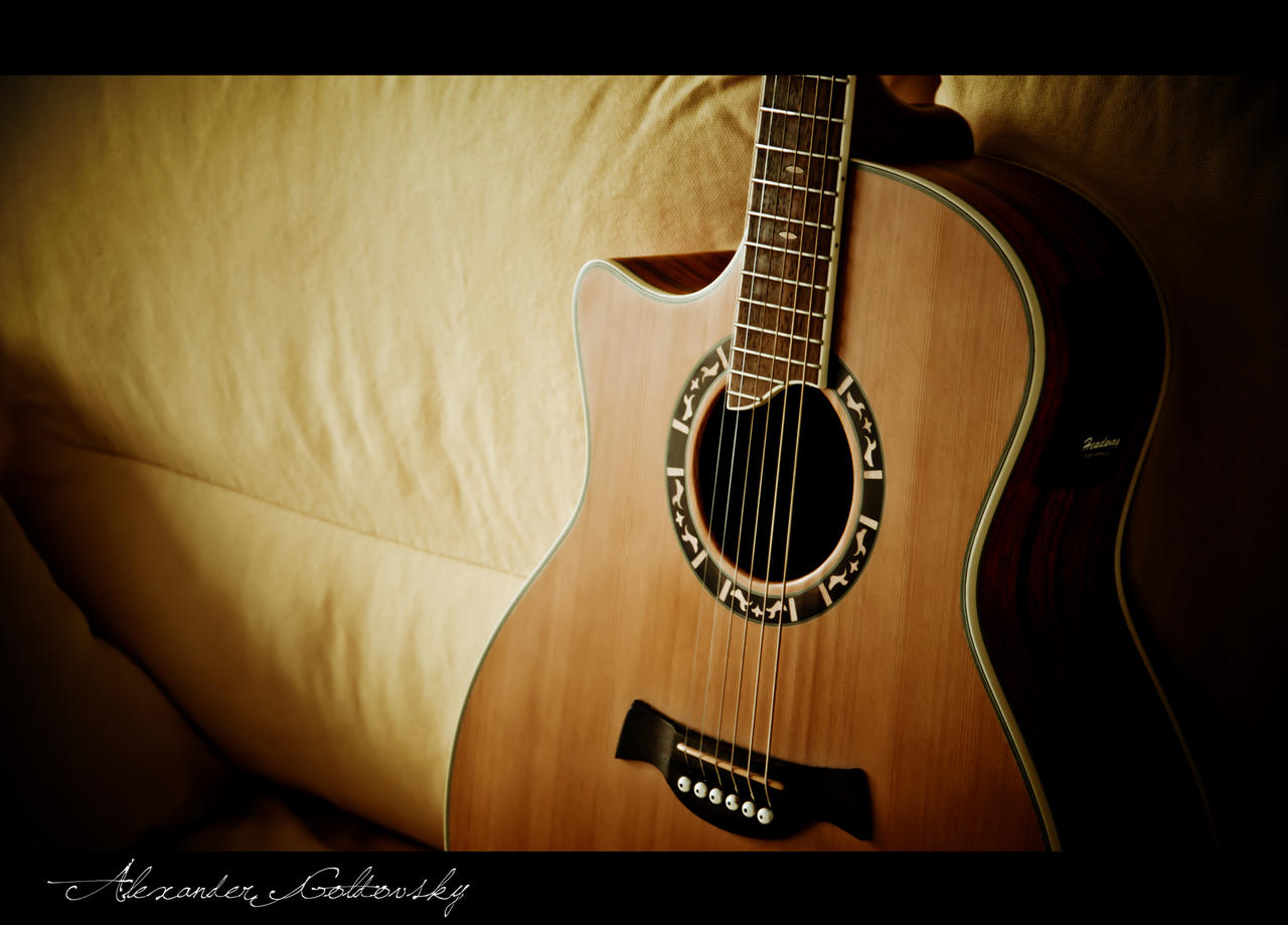 awesome acoustic guitar wallpapers images pictures becuo