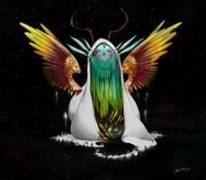 deity by brknpencil-alleraser