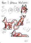 How I Draw Wolves