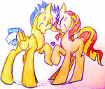 Request: Flash Sentry and Sunset Shimmer