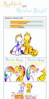 Rainbow Dash or Applejack?