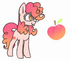 Sunny Peach Pie | Next Gen by HiccupsDoesArt
