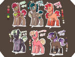 250 Points | Stallion Adoptables | Closed