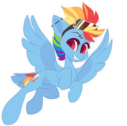 My G5 Rainbow Dash by HiccupsDoesArt