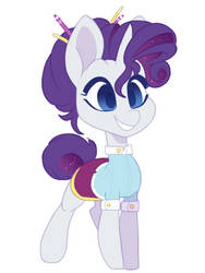 My G5 Rarity by HiccupsDoesArt