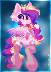 Cadance by HiccupsDoesArt