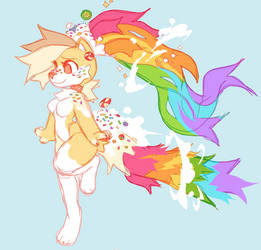Rainbow Cookie | Reference Sheet