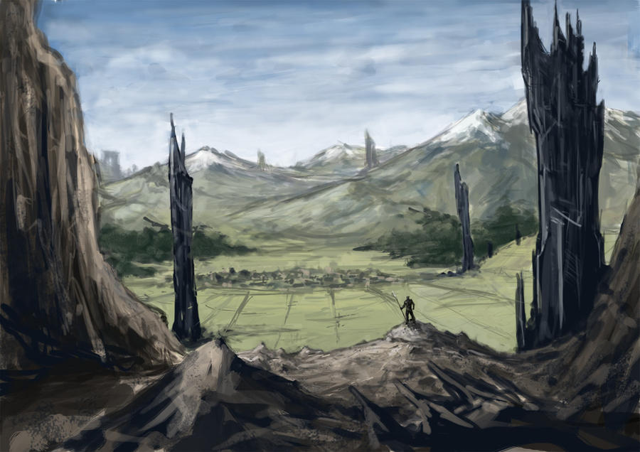 landscape by ogilvie