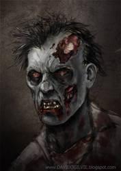 Zombie 01 by ogilvie