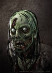 Zombie 03 by ogilvie